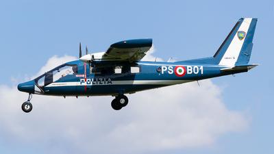 PS-B01 - Partenavia P.68 Observer - Italy - Polizia di Stato