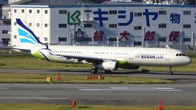 A picture of HL7763 - Airbus A321231 - Air Busan - © Kazuyuki Uemura