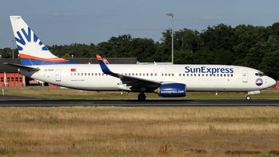 TC-SUO - Boeing 737-86Q - SunExpress