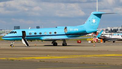 OY-APM - Gulfstream G450 - Maersk Air