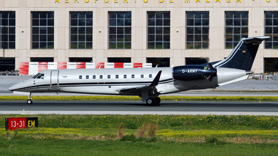 D-ARMY - Embraer Legacy 650E - Air Hamburg
