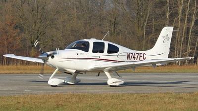 N747FC - Cirrus SR20-GTS - Private