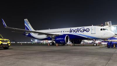 A picture of VTIZA - Airbus A320271N - IndiGo - © Akshay M