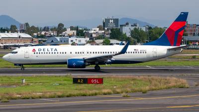 N3767 - Boeing 737-832 - Delta Air Lines