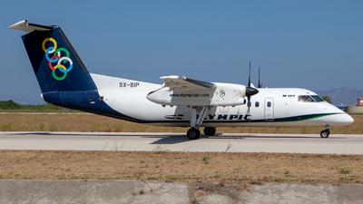 A picture of SXBIP - De Havilland Canada Dash 8100 - Olympic Air - © Gerrit Griem