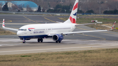 TC-JGJ - Boeing 737-8F2 - British Airways (Comair)