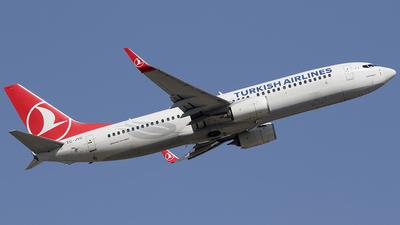 A picture of TCJVC - Boeing 7378F2 - Turkish Airlines - © Jorge Medina Mediavilla