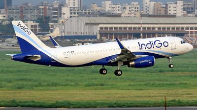 VT-IFM - Airbus A320-232 - IndiGo Airlines
