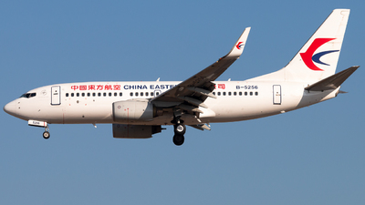 B-5256 - Boeing 737-79P - China Eastern Airlines