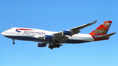 G-BNLS - Boeing 747-436 - British Airways