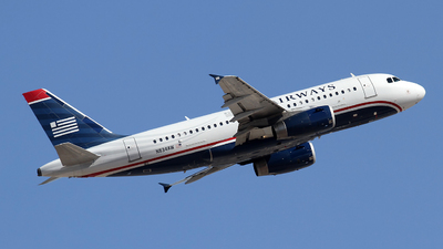 N834AW - Airbus A319-132 - US Airways
