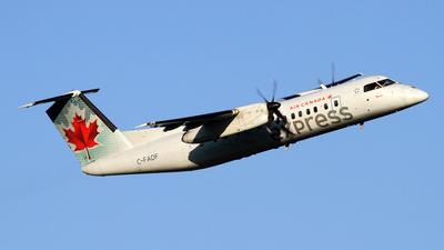 A picture of CFADF - De Havilland Canada Dash 8300 - Air Canada - © Daniel Lapierre Forget