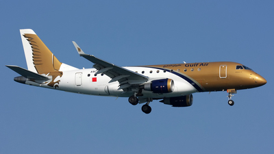 A9C-MA - Embraer 170-100LR - Gulf Air