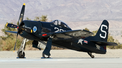 N7825C - Grumman F8F-2 Bearcat - Commemorative Air Force