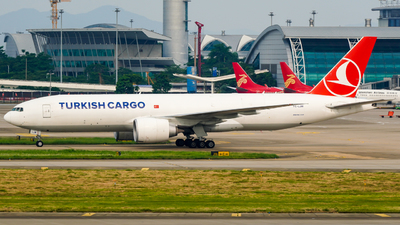 A picture of TCLJM - Boeing 777FF2 - Turkish Airlines - © ZGGG-Highwing