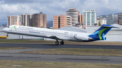 N807WA - McDonnell Douglas MD-83 - World Atlantic Airlines