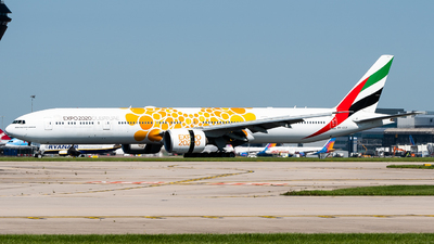 A6-ECD - Boeing 777-36NER - Emirates