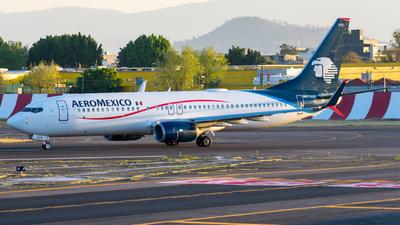 A picture of N875AM - Boeing 737852 - Aeromexico - © Arturo Quintero