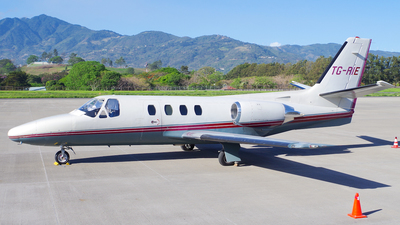 TG-RIE - Cessna 501 Citation - Private