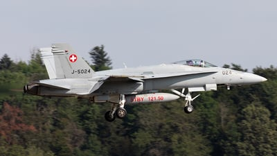 J-5024 - McDonnell Douglas F/A-18C Hornet - Switzerland - Air Force