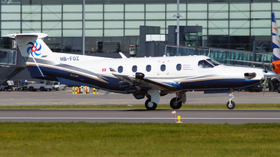 HB-FOZ - Pilatus PC-12/45 - Swiss Flight Services (SFS)