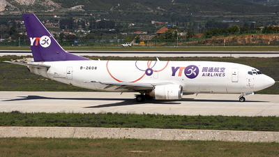 B-2608 - Boeing 737-36Q(SF) - YTO Cargo Airlines
