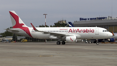 A6-AOS - Airbus A320-214 - Air Arabia