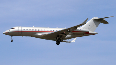9H-VJM - Bombardier BD-700-1A10 Global 6000 - VistaJet