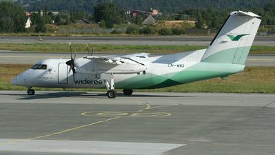 LN-WID - Bombardier Dash 8-103 - Widerøe