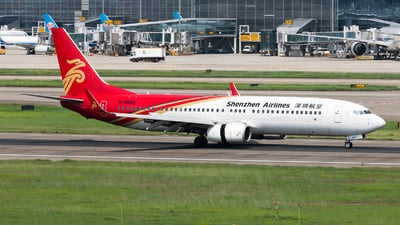 A picture of B5606 - Boeing 73787L - Shenzhen Airlines - © Lazy Clutch
