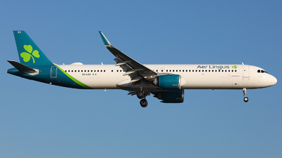 A picture of EILRA - Airbus A321253NX - Aer Lingus - © Peter Smithson