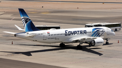 SU-GEZ - Airbus A220-371 - EgyptAir