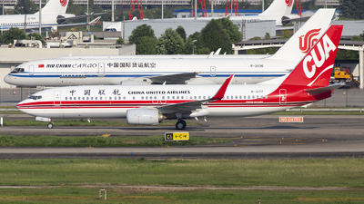 A picture of B1277 - Boeing 73789P - China United Airlines - © XieTM