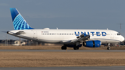 N449UA - Airbus A320-232 - United Airlines