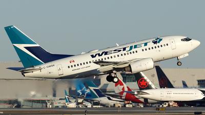 C-GWSK - Boeing 737-6CT - WestJet Airlines