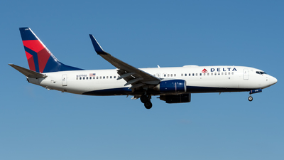 A picture of N37700 - Boeing 737832 - Delta Air Lines - © Kerrigan_Aviation_NJ