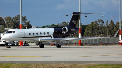 A picture of IDEAS - Gulfstream 5 - [593] - © Fabio Ledda