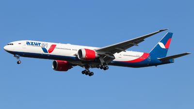 VQ-BZA - Boeing 777-31HER - Azur Air