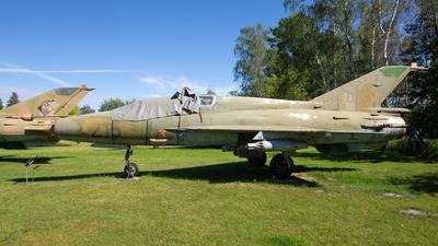 215 - Mikoyan-Gurevich MiG-21US Mongol B - German Democratic Republic - Air Force