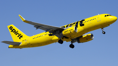 A picture of N622NK - Airbus A320232 - Spirit Airlines - © Nick Neiger