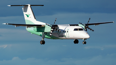 A picture of LNWIP - De Havilland Canada Dash 8100 - Wideroe - © Laszlo Fekete
