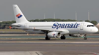 EC-IEJ - Airbus A320-232 - Spanair