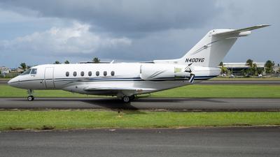 N400VG - Hawker Beechcraft 4000 - Private