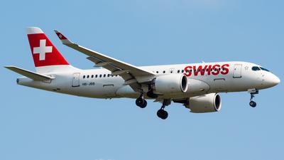 A picture of HBJBB - Airbus A220100 - Swiss - © Wilko Doodhagen