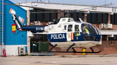 EC-FNO - MBB Bo105S - Spain - National Police