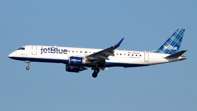 N324JB - Embraer 190-100IGW - jetBlue Airways