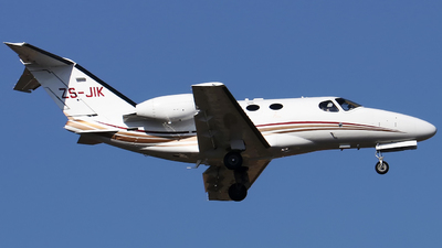 ZS-JIK - Cessna 510 Citation Mustang - Private