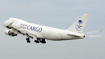 TF-AMQ - Boeing 747-412F(SCD) - Saudi Arabian Airlines Cargo (Air Atlanta Icelandic)