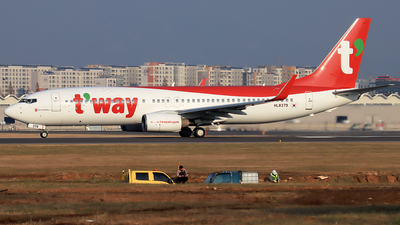 HL8379 - Boeing 737-85R - T'Way Air