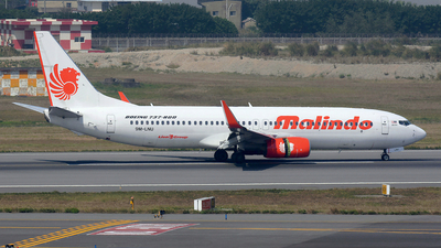 A picture of 9MLNU - Boeing 7378GP - Malindo Air - © Bingolancer